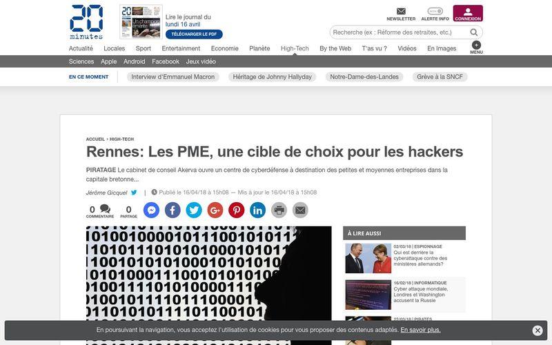 Rennes: Les PME, une cible de choix pour les hackers