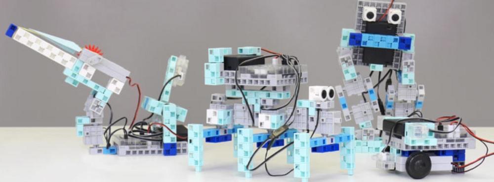robot en kit à construire